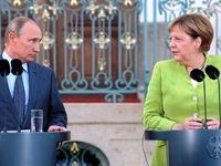 پوتین و مرکل درباره اوضاع ادلب مذاکره کردند