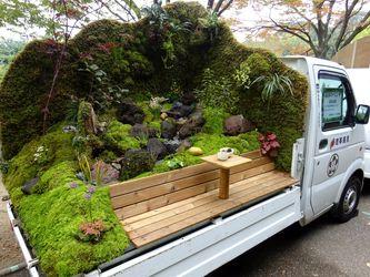 روحیه لطیف کامیونداران ژاپنی! +عکس