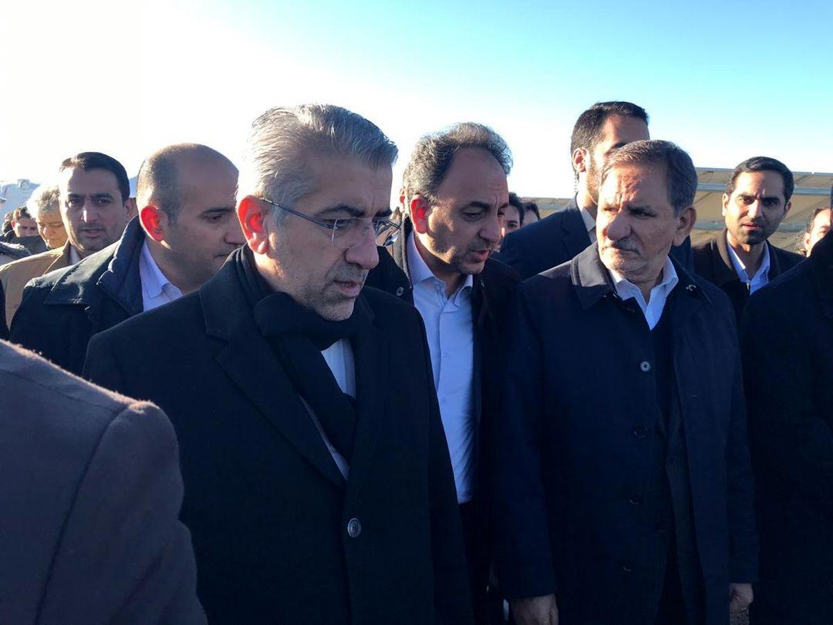سفر معاون اول رییس جمهور به همدان/ سه نیروگاه خورشیدی جدید با هزینه 21میلیون یورو افتتاح شد