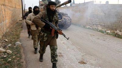 خروج آخرین گروه از افراد مسلح از شهر «حمص»