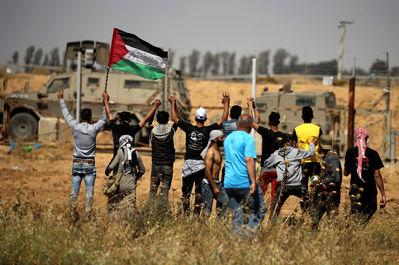 برگزاری راهپیمایی روز نکبت درفلسطین