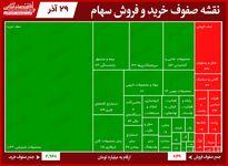 سنگینترین صفهای خرید و فروش بورس امروز/  اقبال به زاگرس با افزایش قیمتهای جهانی متانول