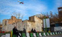 پرواز هواپیماها در آسمان تهران +عکس