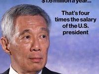 بالاترین دستمزد در جهان متعلق به چه کسی است؟/ حقوق 4برابری نخستوزیر سنگاپور نسبت به ترامپ