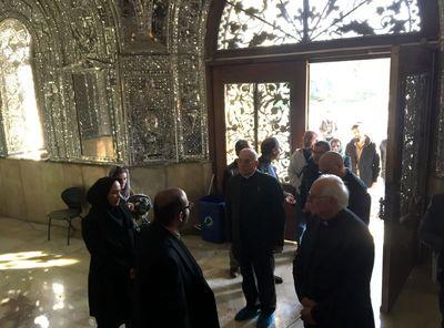 تهرانگردی فرستادگان واتیکان +تصاویر