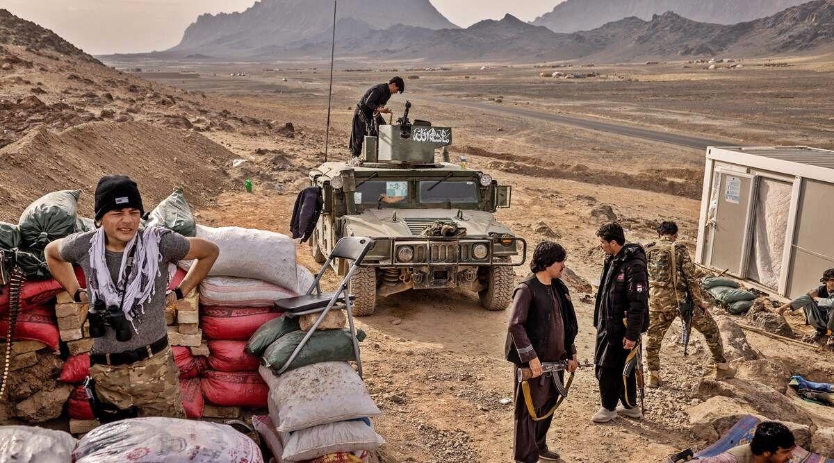 آمریکا مواضع طالبان را در افغانستان هدف قرار داد