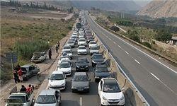 ترافیک در مسیرهای ورودی مازندران سنگین است