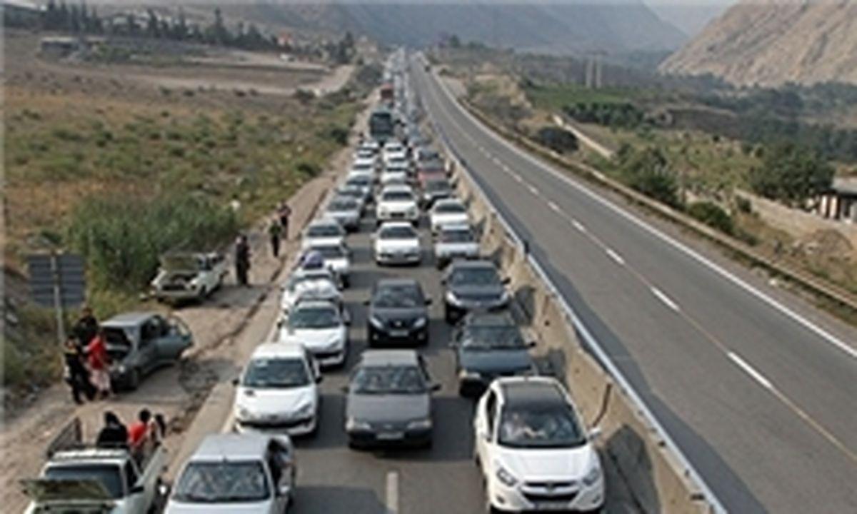 اعمال محدودیت ترافیکی در محورهای شمال