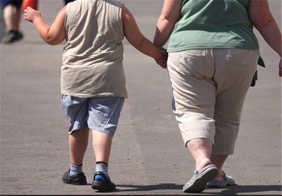چاقی مادر باعث چاقی کودک میشود!