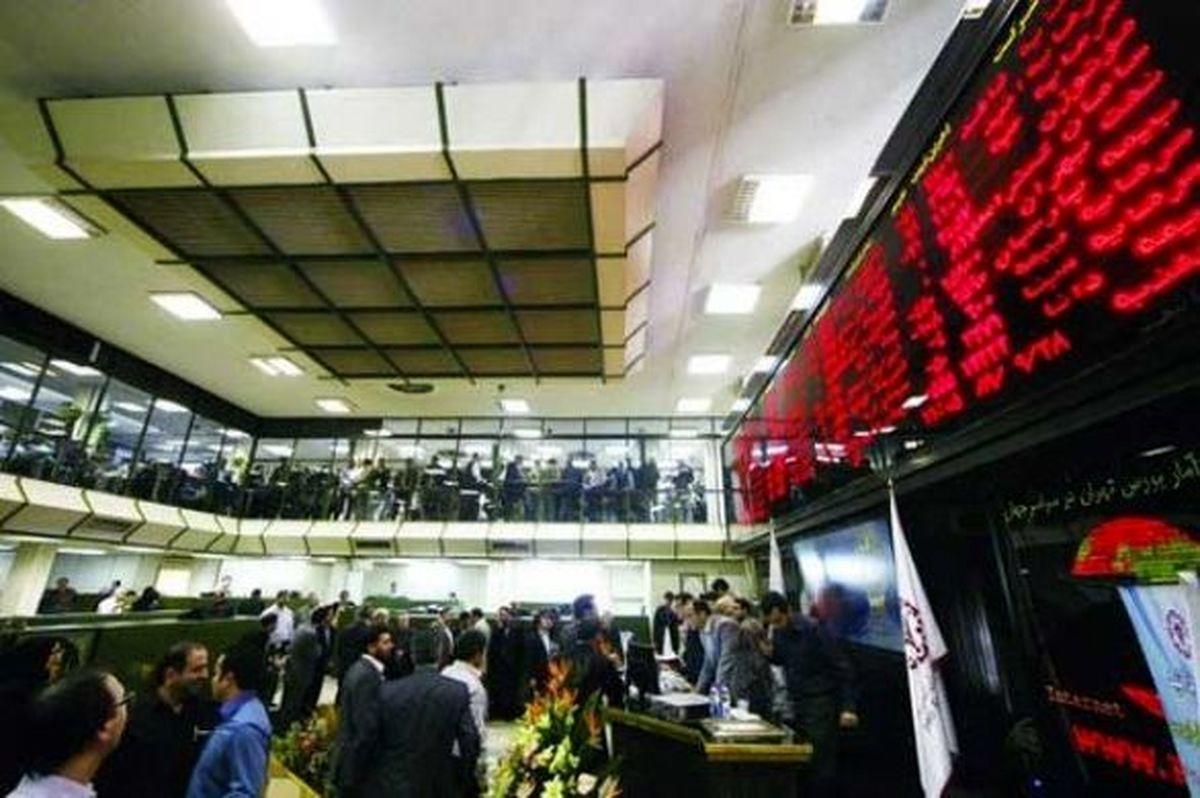 روز قرمز شاخص سهام بانکی در تالار شیشهای