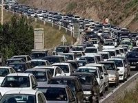 ترافیک سنگین در چالوس و هراز
