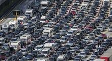 ترافیک سنگین برای سفر به بندر دوور