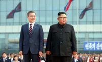 رییس جمهور کره جنوبی و همسرش در کره شمالی +عکس