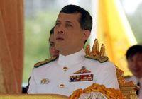 جارو کشی پادشاه تایلند و معشوقهاش +عکس
