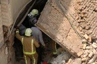 دو کودک زیر آوار دیوار کشته شدند