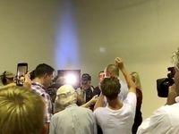 حمله تخممرغی به سناتور منتقد مسلمانان در استرالیا +فیلم
