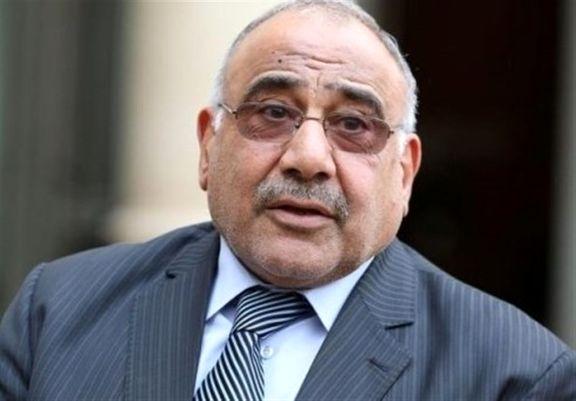 عبدالمهدی: هیچ کشوری حق عملیات از خاک عراق علیه دیگران را ندارد