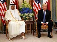 امیر قطر دعوت ترامپ را رد کرد