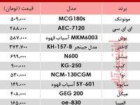 نرخ انواع آسیاب برقی در بازار؟ +جدول