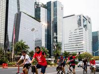پرسه در خیابانهای رنگی جاکارتا +عکس
