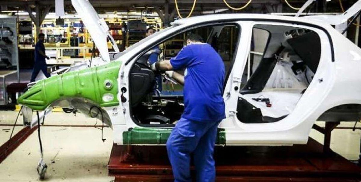 رشد ۱۲ درصدی تولید در سایپا در مقابل افت ۱.۵ درصدی ایران خودرو
