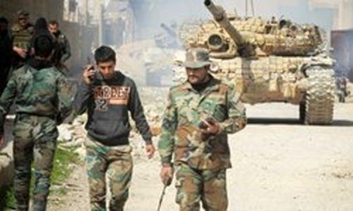 ارتش سوریه بر شهر دوما مسلط شد