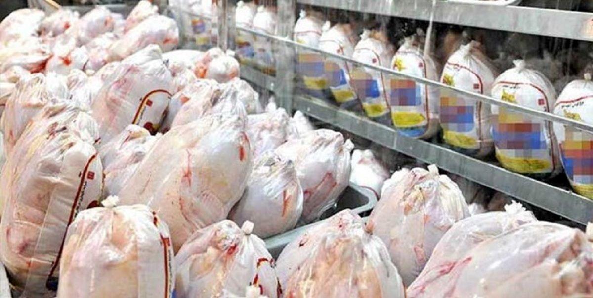 قیمت مرغ در بازار به ۱۹هزار تومان رسید