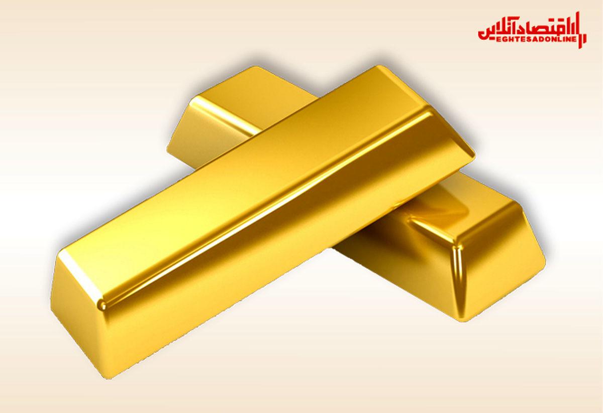 سقوط ۲درصدی قیمت جهانی اونس طلا