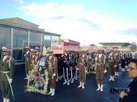 پیکر ۳شهید خدمت سانچی وارد ایران شد