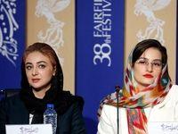 تیپ متفاوت خانم بازیگر در جشنواره +عکس