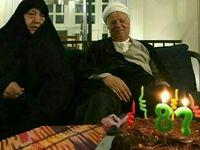 آخرین جشن تولد آیتالله هاشمی +عکس