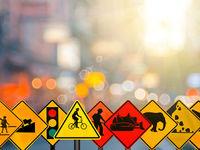 دزدها به تابلوهای راهنمایی و رانندگی هم رحم نکردند!