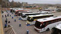 قیمت بلیت اتوبوس های برگشت زائران اربعین از مرز مهران اعلام شد