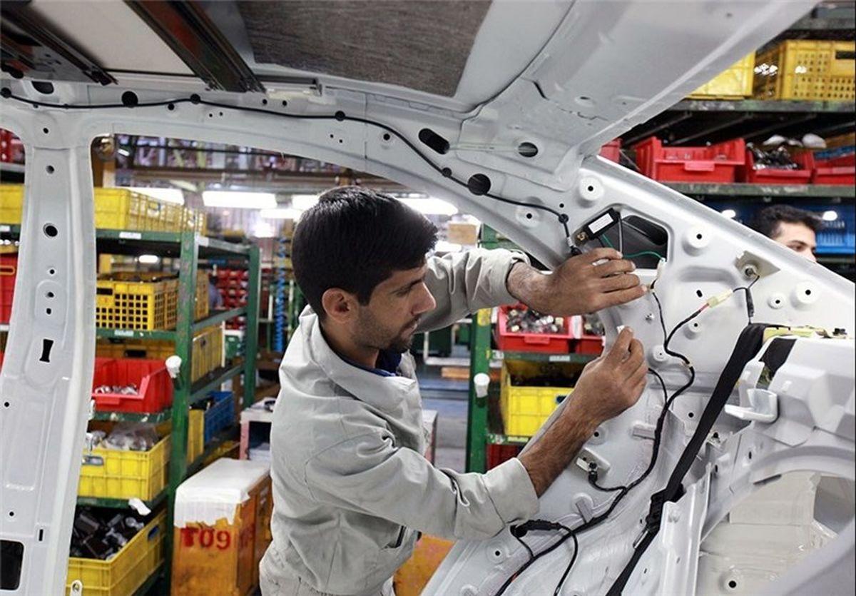خودکفایی ۷۰درصدی کرمان موتور در قطعات بدنه خودرو تا ۱۴۰۰