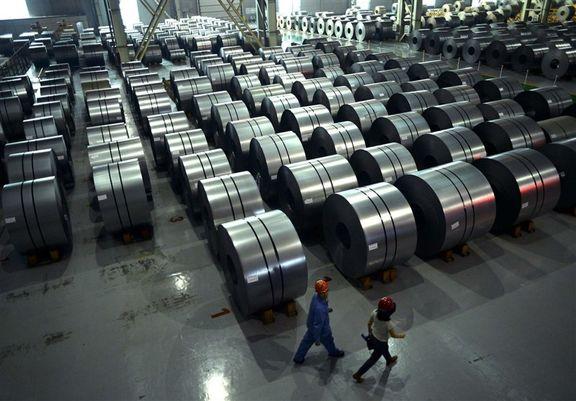 تولید فولاد ایران از ۱۷ میلیون تن گذشت
