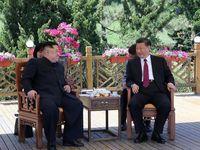 رهبر کره شمالی با رییسجمهور چین دیدار کرد