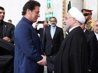 استقبال رسمی روحانی از نخست وزیر پاکستان +فیلم