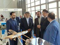 بازدید سفیر ایران از نمایشگاه بینالمللی هوایی مسکو