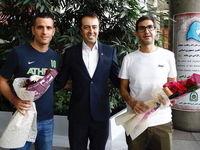 دو دستیار کالدرون به تهران آمدند +عکس