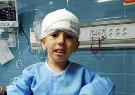 خندههای «علی» کوچولو پس از معجزه نجات
