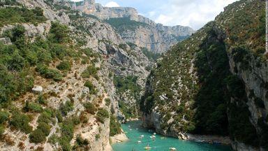 Verdon Gorge_ Provence_ France