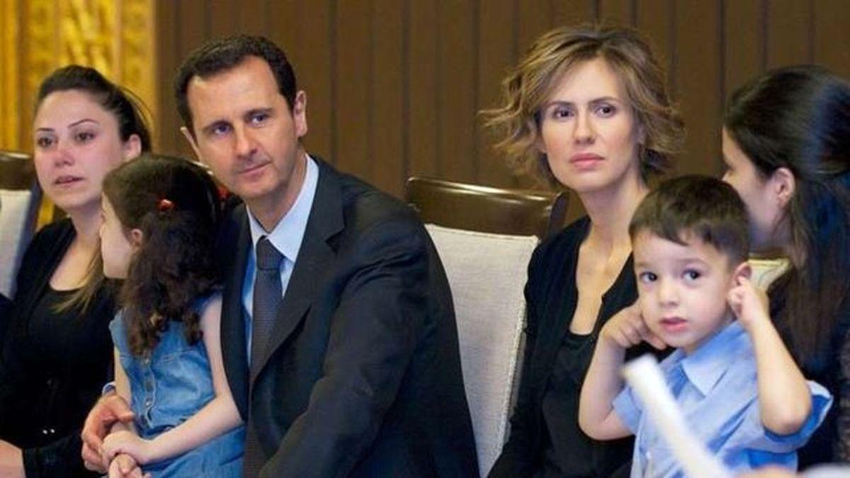 همسر بشار اسد به سرطان مبتلا شده است +عکس