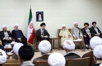 دیدار رییس و نمایندگان مجلس خبرگان بارهبری +عکس