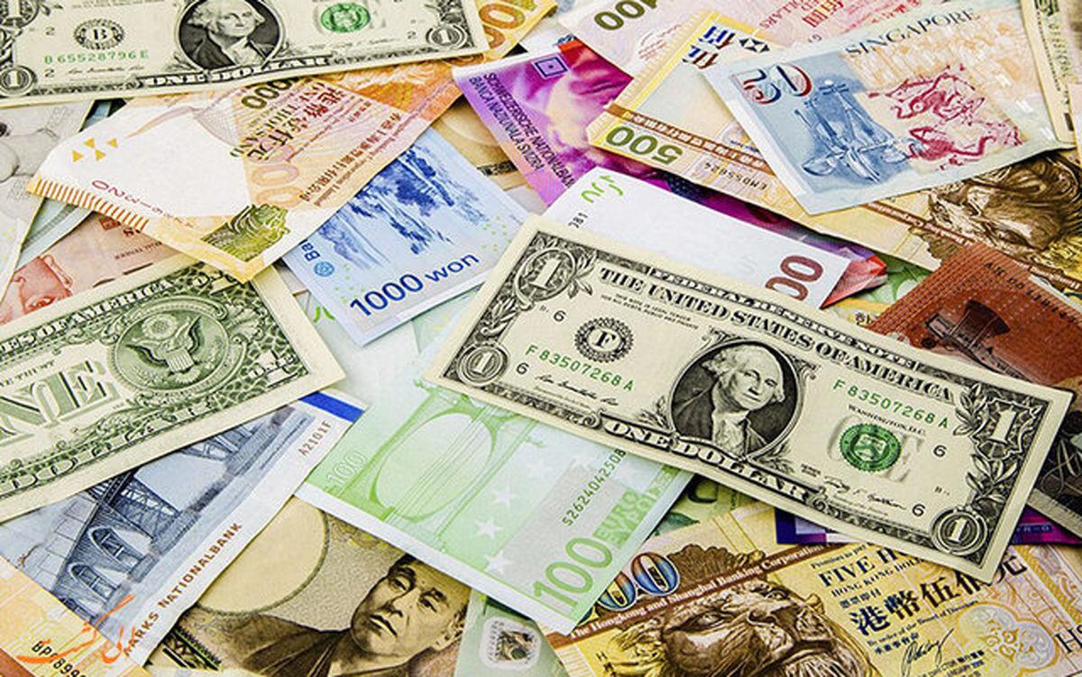 افزایش نرخ رسمی ۲۵ ارز