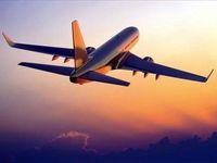 فرود اضطراری هواپیما در پی دود شدید در کابین +فیلم