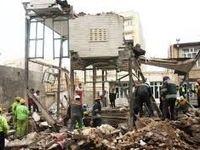 خسارت به ۱۸خانه در اثر انفجار گاز در تبریز