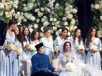 عروسی ملکه زیبایی روسی با پادشاه مالزی +تصاویر