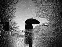 باران و برف در راه زنجان