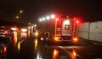تصادف تریلی با 2سواری در آزادراه قزوین-تهران