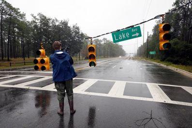 خسارات توفان فلورانس در آمریکا